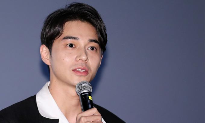 일본 배우 히가시네 마사히로, 영화 '아사코' 무대인사