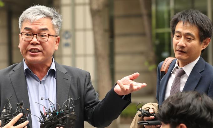 '장자연 문건' 관련한 입장 밝히는 박훈 변호사-김대오 기자