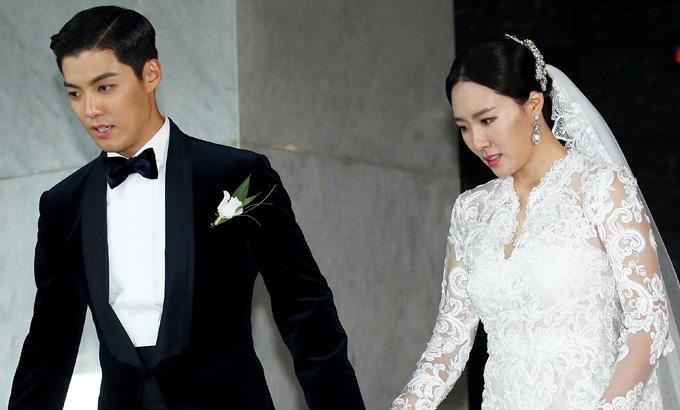 강남-이상화 결혼식, 연예-스포츠스타 커플 탄생