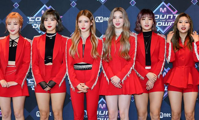 여자친구-골든차일드-문별-에버글로우-이달의 소녀,  Mnet '엠카운트다운' 리허설
