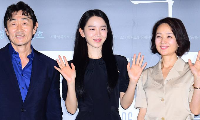 태항호-홍경-허준호-배종옥-신혜선-박상현 감독, 영화 '결백' 언론시사회