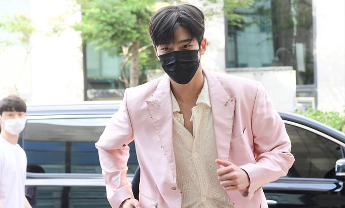 SF9 로운-찬희-태양-주호, KBS '열린음악회' 녹화