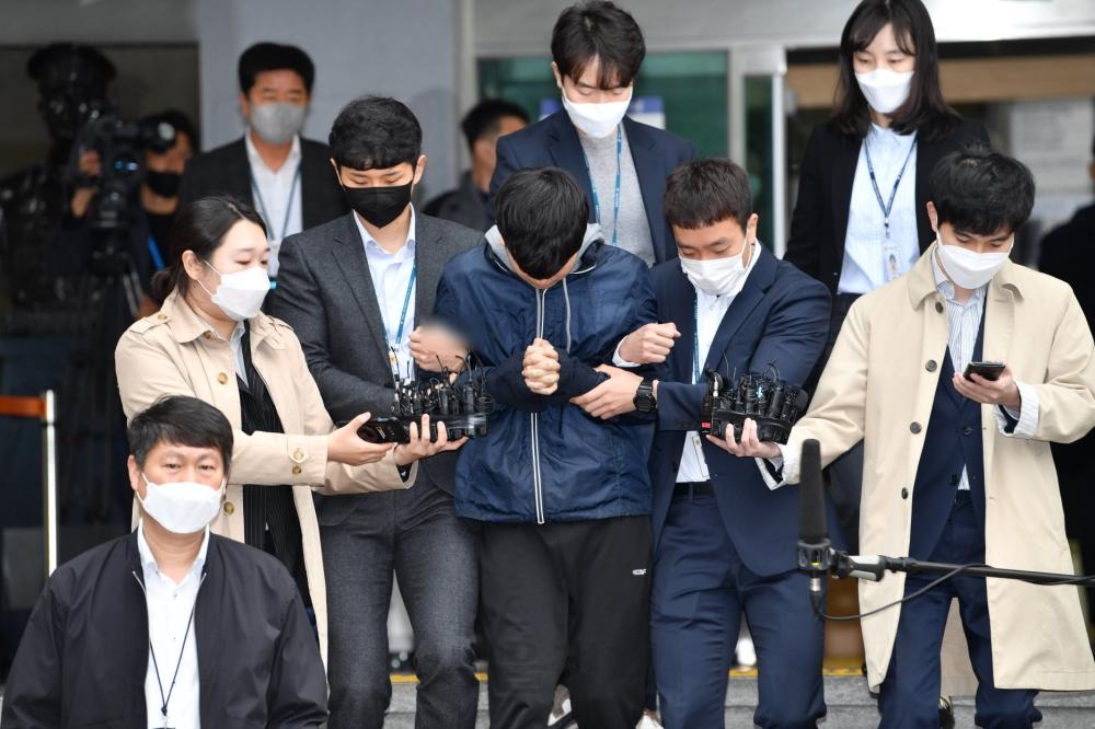 '부따' 강훈 검찰 송치 현장