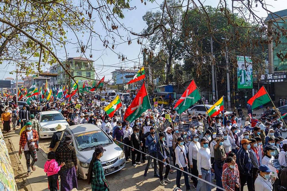 미얀마 '22222 시위'