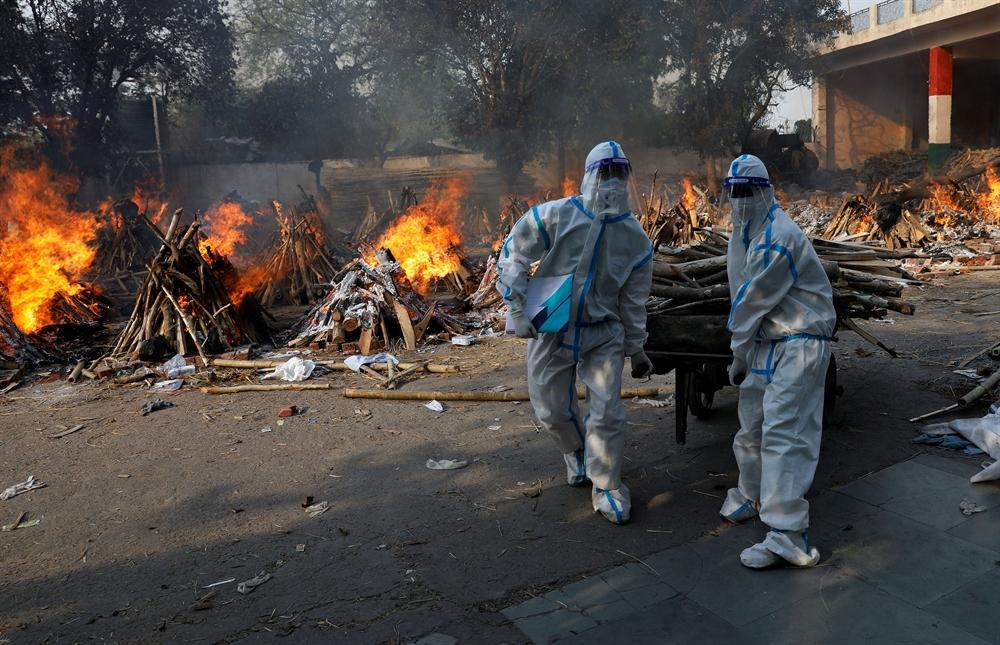 '코로나 지옥' 빠진 인도
