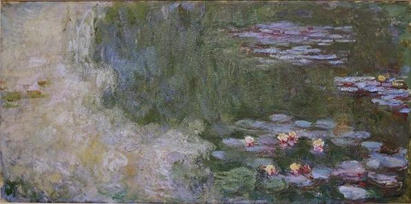 모네 '수련이 있는 연못'