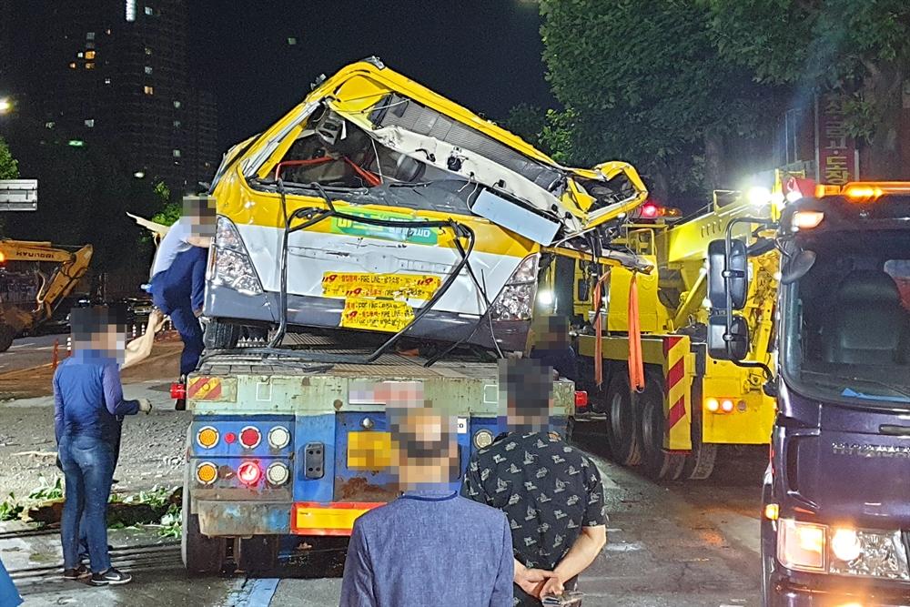 한순간에 무너진 건물…광주 붕괴사고 현장