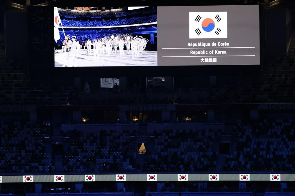 """""""혼자가 아니야""""…도쿄올림픽 개막"""