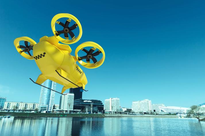 '드론택시' 탄다…도심항공교통 2025년 상용화