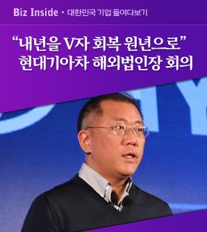 """정의선 """"내년을 V자 회복 원년으로"""""""