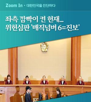 [이미선 임명 강행] 위헌 심판 매직넘버 6 진보로 채워...사형제·국보법 폐지되나