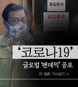 코로나19 글로벌 '팬데믹' 공포