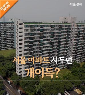 서울 아파트 사두면 개이득?