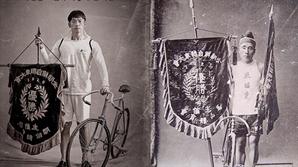 """'자전차왕 엄복동' 정지훈, 120년을 뛰어넘은 완벽 싱크로율 """"승리의 엄복동"""""""