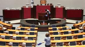 한국당 뺀 4당 국회 '개문발차'...추경안 처리는 '빨간불'
