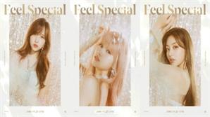 트와이스 사나-지효-미나, 찬란한 컴백 비주얼 공개...'특별한 무엇이 되는 순간' 표현