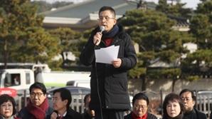 """단식 이틀째 黃 """"지소미아 폐기 강행…국익훼손행위"""""""
