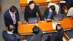 """與 '4+1 예산안'으로 간다…""""오후 6∼8시 작업 마무리될 듯"""""""