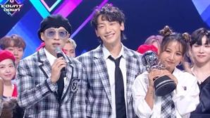 싹쓰리 '엠카' 1위...음악방송까지 뻗친 한계 없는 영향력